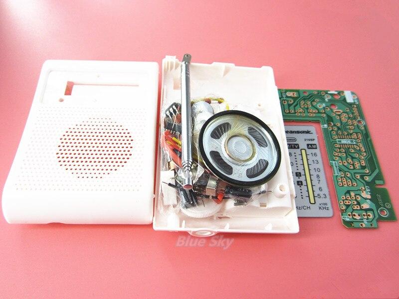 100%new AM / FM stereo AM radio kit / DIY CF210SP es