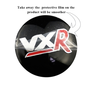 Image 4 - 56mm 3D מרכז גלגל רכב כיסוי מדבקה עבור ווקסהול אסטרה H J Zafira Antara Mokka Insignia Maloo עבור VXR לוגו אוטומטי רכזת תג