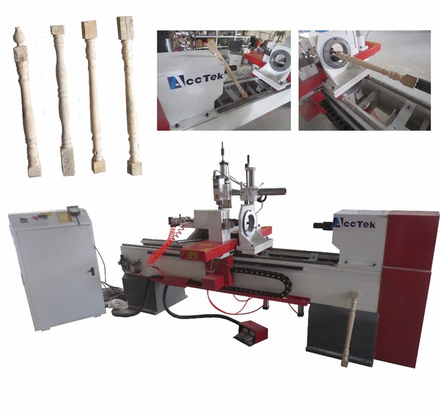 Hot Sale Automatic Wood Turning Lathe Making Wood Baseball Bat In