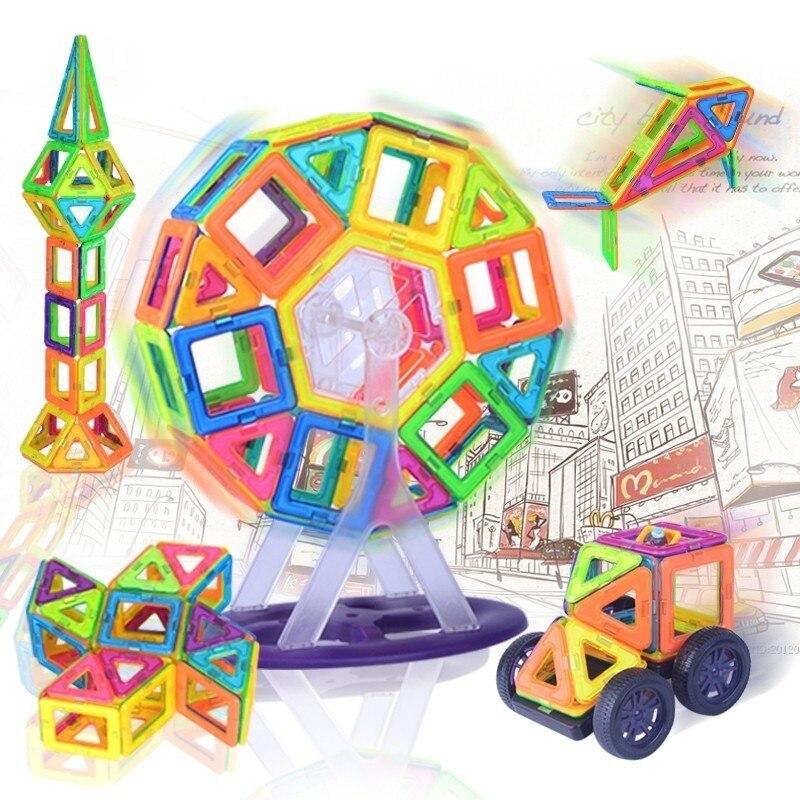 Magnetic Designer Block 89/102/149 pcs Building Models Toy Enlighten Plastic Model Kits Educational Toys for ToddlersMagnetic Designer Block 89/102/149 pcs Building Models Toy Enlighten Plastic Model Kits Educational Toys for Toddlers