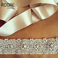Charming new beaded Crystal Rhinestones Pearls appliques women wide waistband luxury diamond beading wedding bridal belts