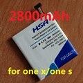 Lo nuevo 2800 mah bm35100 bj83100 batería uso para htc one x s720e/one s z520e