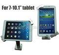 """Flexible ipad montaje de metal tablet pc soporte de exhibición de seguridad samsung tablet recinto con teclas de bloqueo para 7-10.1 """"tablet"""