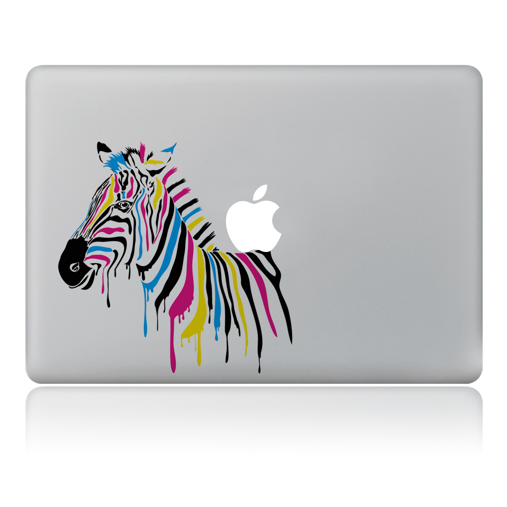 Special color ink painting zebra Vulture style Vinyl Decal ...
