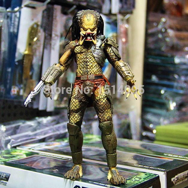 820cm NECA Predator Movie Series 1 Classic Predator PVC Action Figure Model Toy  TT009 neca planet of the apes george taylor clothed pvc action figure collection model toy 8 20cm