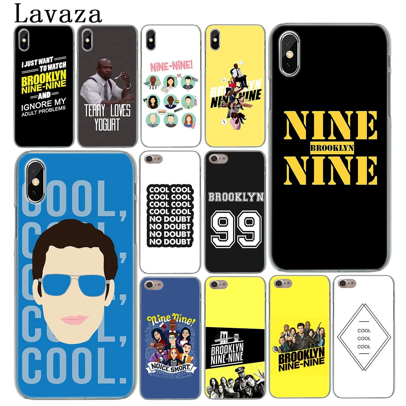 Lavaza Brooklyn Nine Nine Hard Cover Case for iPhone X XS Max XR 6 6S 7 8 Plus 5 5S SE 5C 4S 10 Phone Cases 7Plus 8Plus