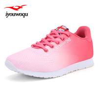 Outdoor Ladies Running Shoes 2017 New Design Breathable Lightweight Mesh Sneakers Women Shoes 2017 Summer New