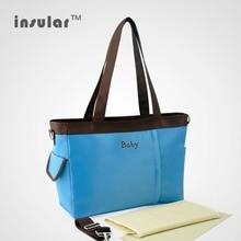 L'arrivée de nouveaux Cheap bébé sacs à couches multifonctions sacs momie Nappy sacs pour poussette