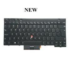 ORIGINAL nuevo para Thinkpad T430 T430i X230 X230i X230T T430S W530 L430 teclado para portátil con retroiluminación grande US negro envío gratis