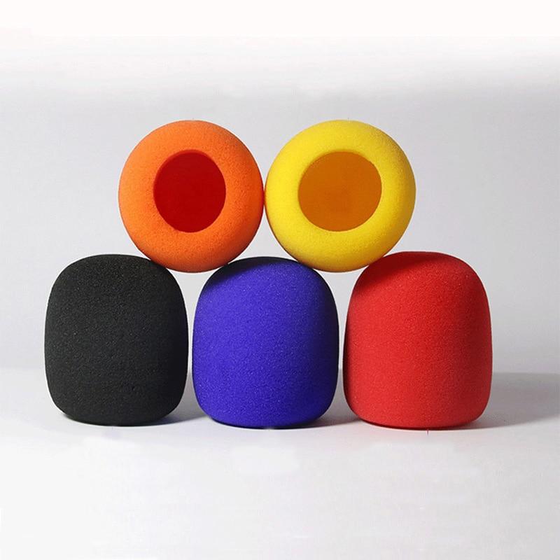 Microphone Foam Thicken Mic Cover Sponge Professional Studio WindScreen Protective Grill Shield Soft Microphone Cap