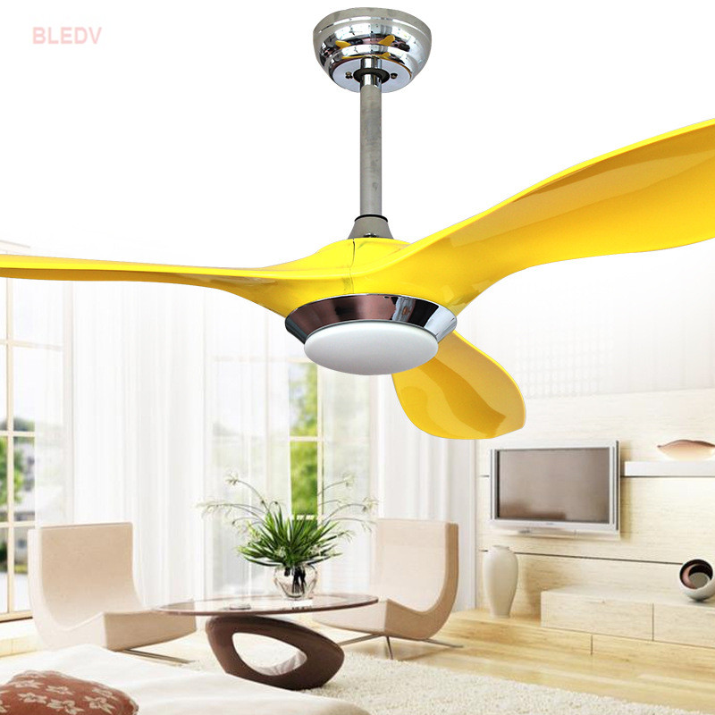 Wholesale high quality nordic creative led ceiling fans - Bedroom ceiling fans with remote control ...