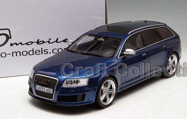 * 1:18 Car Model OTTO Audi RS6 Avant C6 Diecast Model Classic Toys Car Replica Luxury Collections 1 18 otto renault espace ph 1 2000 1 car model reynolds