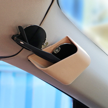 2 Car Auto Truck Pillar Pocket Holder Box Storage Bag Cigarette Cellphone Glasses Car Styling Accessories HA10699