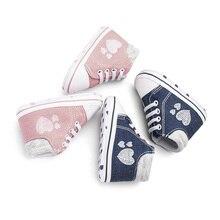 Newborn Baby Shoes First Walker Child Cotton Boy Girl Sports 0-18M