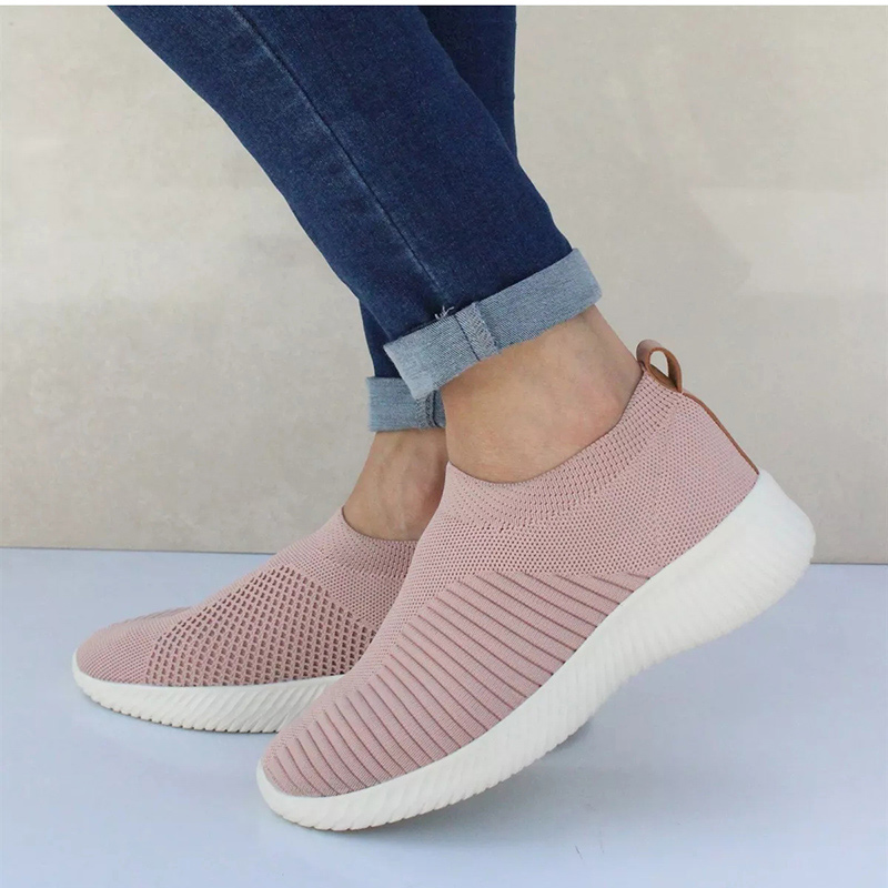 Knitting Sock Sneakers for Women (Flat Shoes)