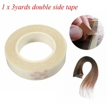 Double Sided Tape Adhesive for Toupee/Skin/Lace Wigs PU Hair Extension(China)