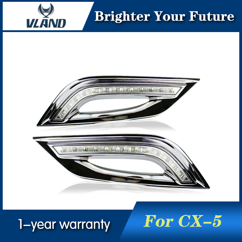 2Pcs White LED Daytime Running Fog Lights Lamp DRL For Hyundai Sonata 2011-2012 with Amber Turn Signal Light led drl daytime running lights for hyundai tucson ix35 2010 2011 2012 2013 with fog lamp light hole quality assured