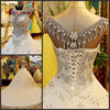 Free Shipping Luxury Ball Gown Cap Sleeve Hand Beaded Arab Bridal Gown Wedding Dress Wedding Gowns
