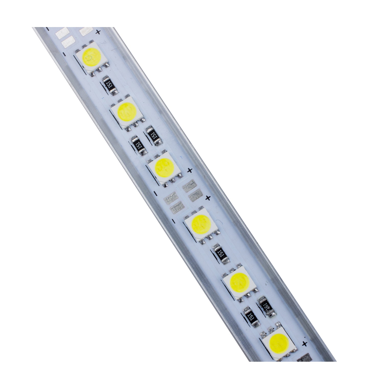 50CM 5050 SMD 36 LED Day White Aluminium Rigid Strip Bar Light Lamp