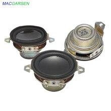 1.5 cal głośnik pełnozakresowy 5W 40mm przenośny głośnik 4 ohm 8ohm Mini głośnik rogi Audio głośniki samochodowe DIY domu System 2 sztuk