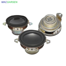 1.5 inch Full Range Speaker 5W 40mm Portable Speaker 4 ohm 8ohm Mini Loudspeaker Horns Audio Car Speakers DIY Home System 2pcs