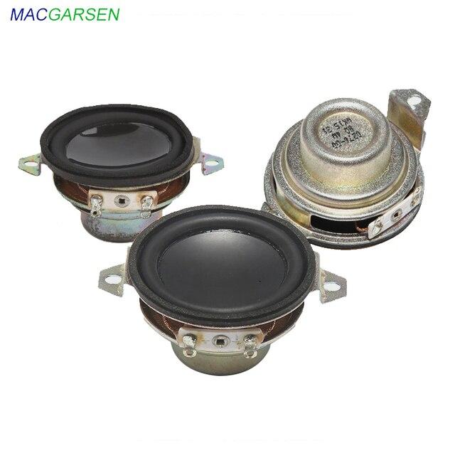 1.5 inch Full Range Speaker 5W 40mm Portable Speaker 4 ohm 8ohm Mini Loudspeaker Horns Audio Car Speakers DIY Home System 2pcs