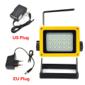 Waterproof IP65 20LED 3models 30W LED Flood light Portable SpotLights Rechargeable Outdoor LED Work Emergency light