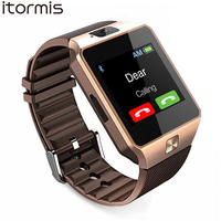 ITORMIS W33 Bluetooth Smart Watches Smartwatch Fashion Watch Mobile Phone Pedometer Tracker DZ09 For Samsung IOS