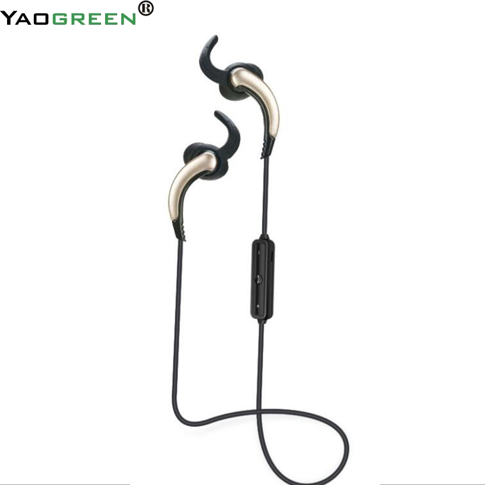 S6 Bluetooth Earphone EarHook Wireless Sport Handfree with 2 Channel Stereo Music Earphones for Android Phone Xiaomi G7-008