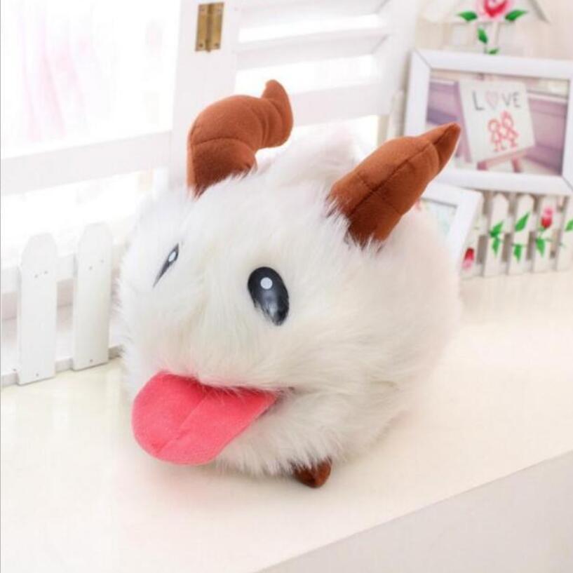 New LOL Poro plush toy Poro Doll Legal Edition High quality 10cm 1pcs SUPER CUTE& SOFT &HIGH QUALITY Kids Toys Gif high quality plush hamburg modelling pet toys