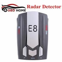 Lates Design Car Radar Detector E8 Car Full Band Scanning Voice Anti Police LED Radar Detector