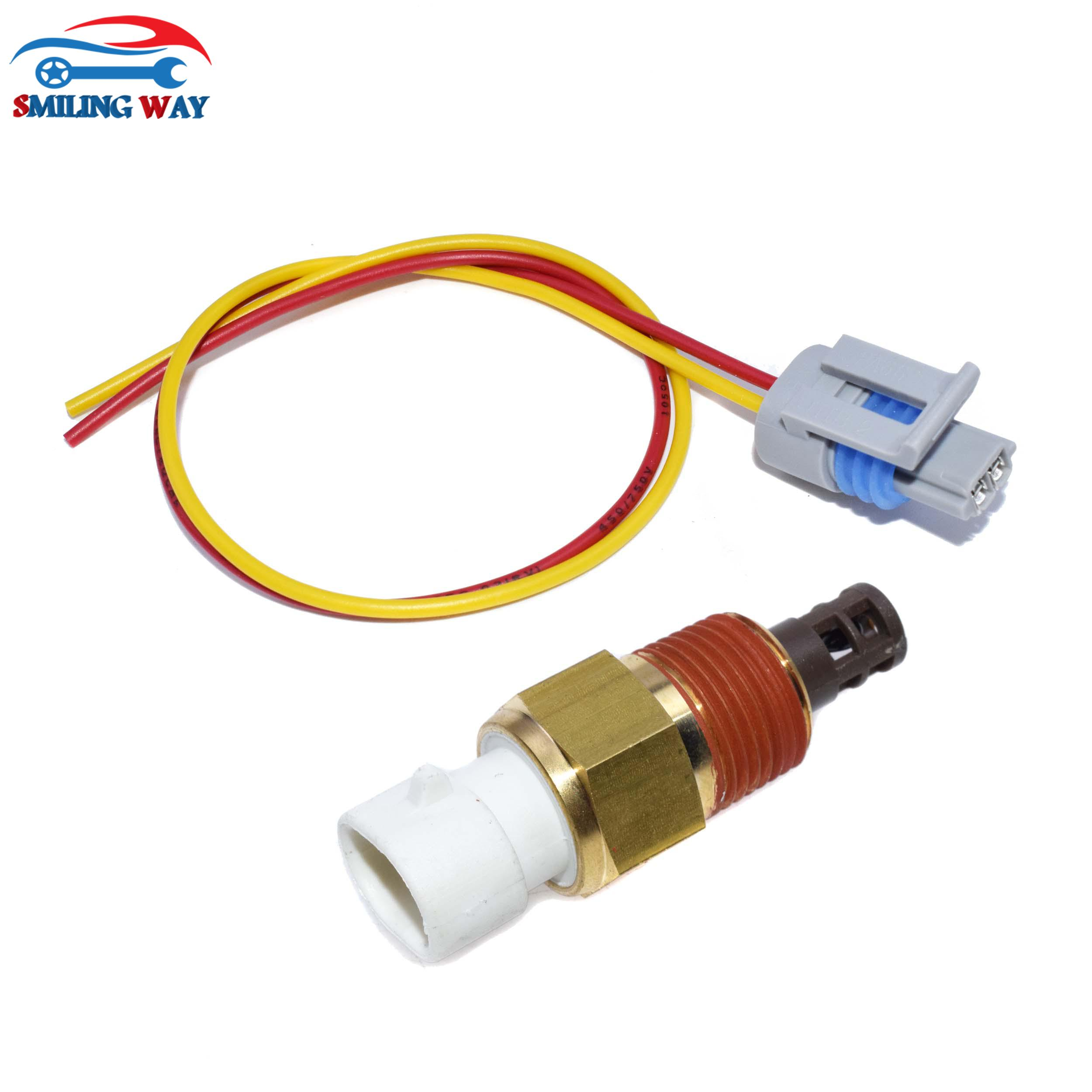 Air Charge Temperature Sensor W Connector For Buick Cadillac GMC Hummer Isuzu