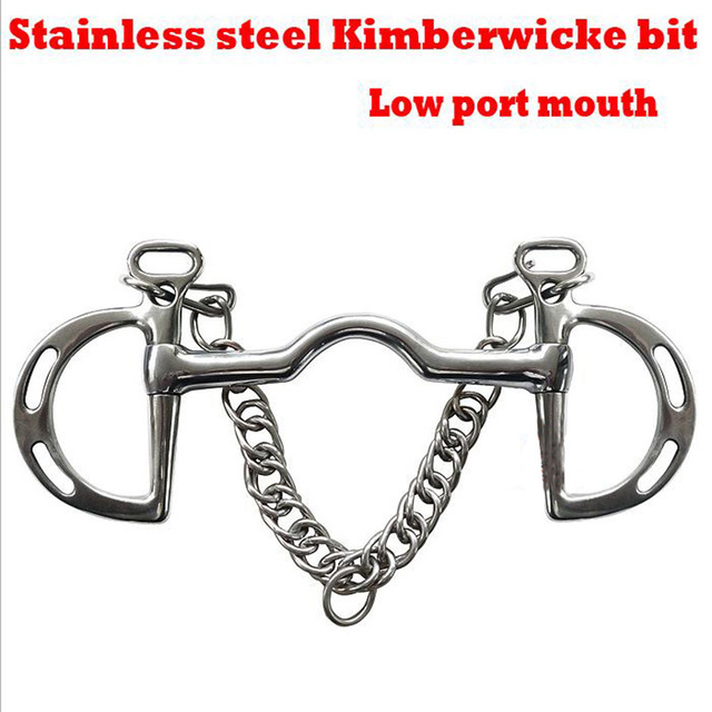 Solid Jointed Stainless Steel Horse Pelham Bits  5