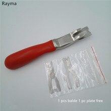 Rayma ПВХ пластик Спорт линолеум сварочная проволока razed нож, пол сварочный ремень выравниваемые инструменты, shuhei лезвие