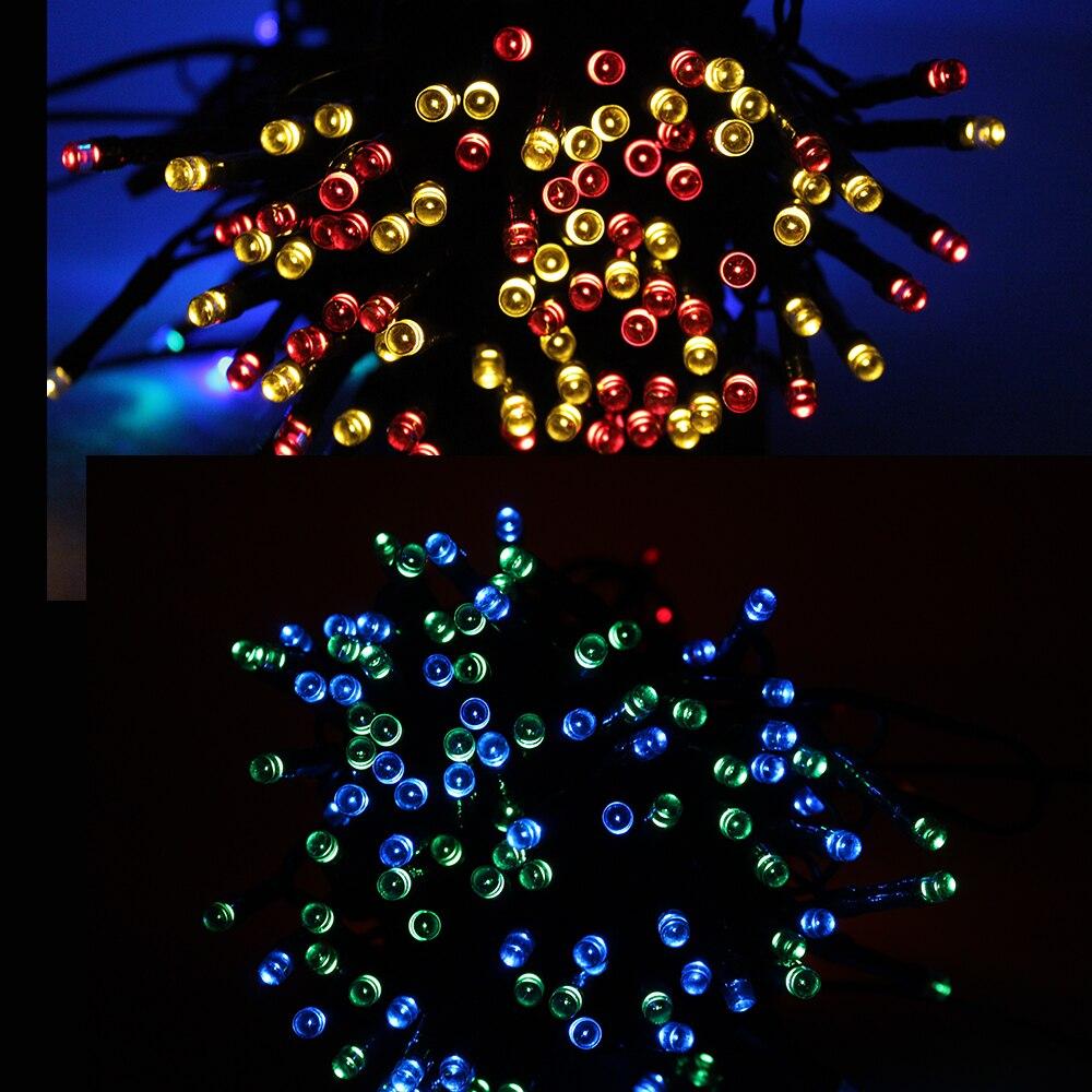 100 LED Solar String Light Outdoor Waterproof Fairy Solar Lights For Garden Decoration Christmas Solar Powered Lamp Strip 200LED (14)