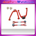 Front & Rear Camber Kit Fits Nissan Infiniti 350Z G35 03-07 Adjustable RED