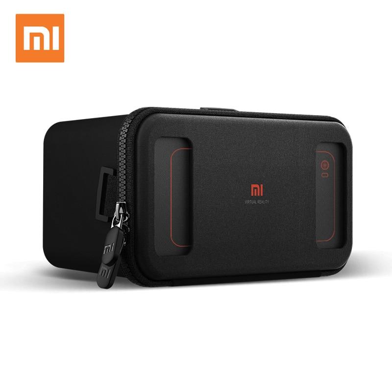 Original Xiaomi VR box 3D Virtual Reality Glasses cardboard MI VR apply to apple iphone sumsang