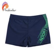 Andzhelika/Новинка; одежда для купания для мальчиков; дышащие мужские спортивные плавки с надписью; Детские шорты для плавания; пляжные плавки для мальчиков; Одежда для мальчиков
