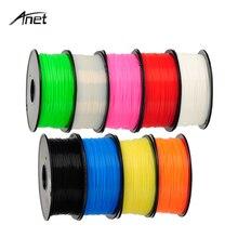 Anet 3 Rolls 3D Printer PLA Filament 1KG 1.75mm PLA Plastic Rubber Consumable Filaments For Makerport RepRap DIY 3D Printing