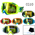Professional Speed Wolf LY100 Motocross Goggles Anti-Fog Clear Lens Tear offs Films Motor Bike Gafas ATV Glasses CG10