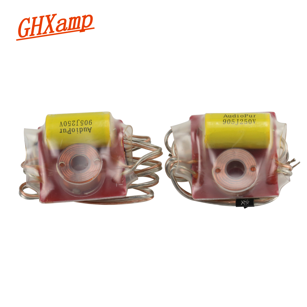 GHXAMP 2PCS Tweeter Speaker Crossover Audio Board Car Home Single Way Second-Step Frequency Divider DIY 150W For 4OHM Treble