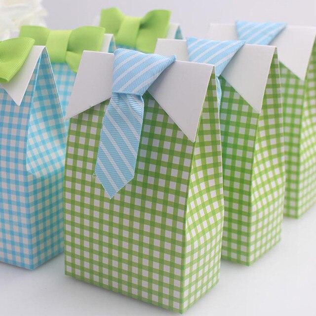 Hochzeitsgeschenke Box Tie Band Elegante Luxus Dekoration Party