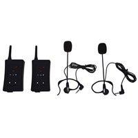 Оригинал ЕС Plug парные fbim Bluetooth переговорные Интерком 1200 м Беспроводной домофон для мотоциклистов директоров судья