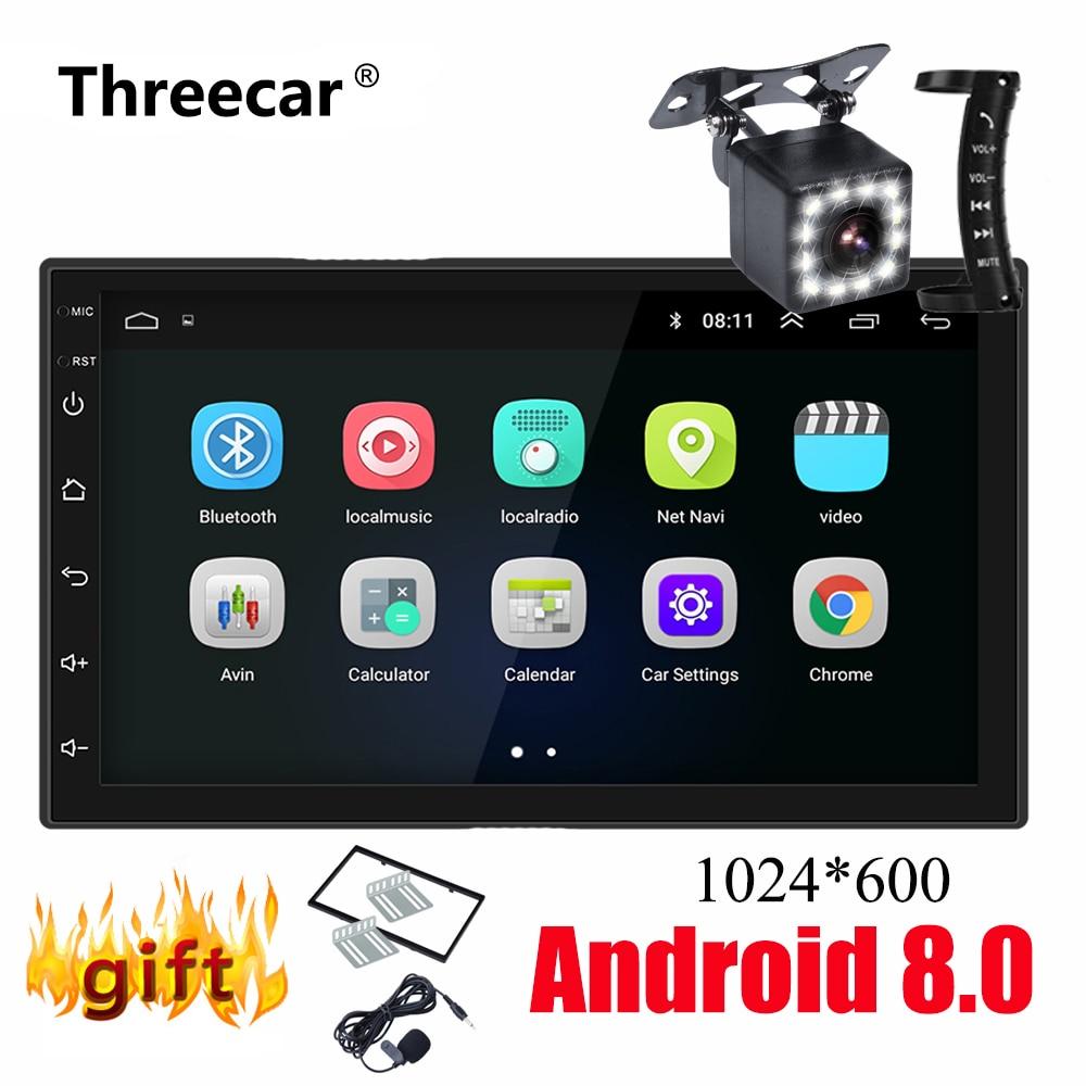 2 Din Android Car Radio GPS Navigation 7 2din Universal Car Stereo Audio Bluetooth Wifi USB AM FM No DVD Autoradio MP5 Player