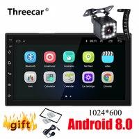 2 Din Android Car Radio GPS Navigation 7 2din Universal Car Stereo Audio Bluetooth Wifi USB No DVD Autoradio MP5 Player