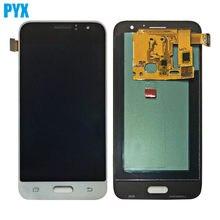 OLED ЖК-дисплей для Samsung Galaxy J1 J120 J120F J120M J120H, сенсорный ЖК-экран с цифровым преобразователем в сборе