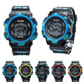 Milky  Waterproof Cool Mens Boys Digital LED Quartz Alarm Date Sports Wrist Watch relojes FEB20