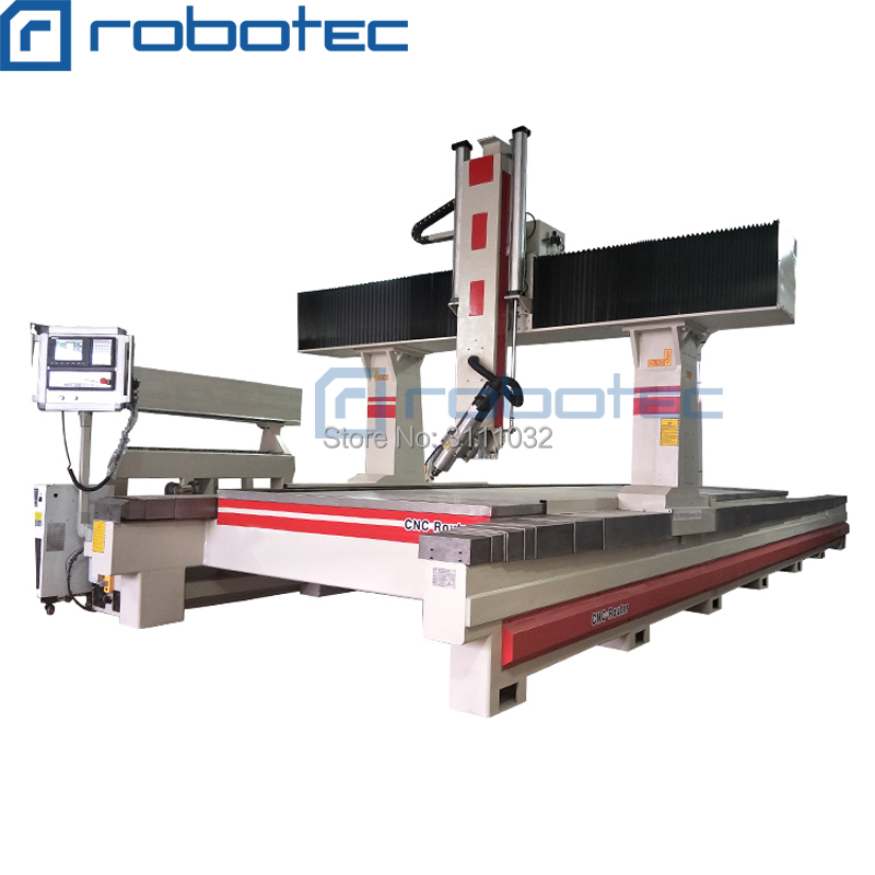 1325 High Quality 4 Axis Rotary Axis Cnc Router 1325 , 4 Axis Wood Cnc Router For Soft Metal , Aluminum , MDF