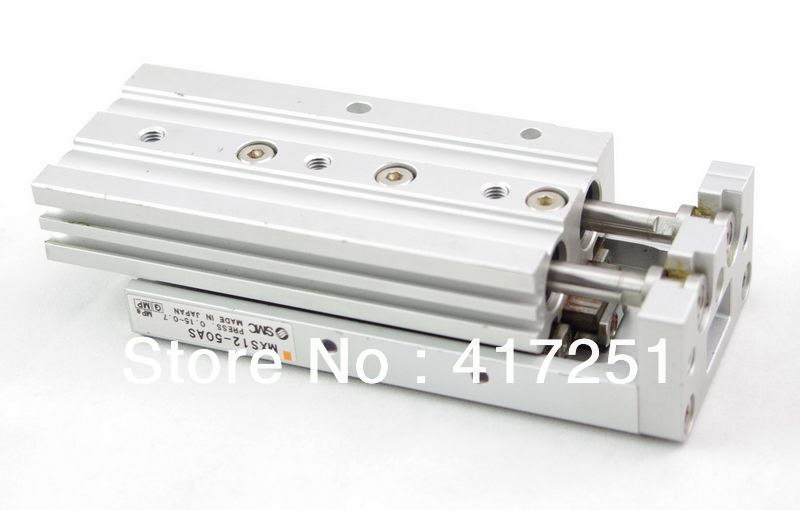SMC Type Cylinder MXS 6-30AS Air Slide Table Double Acting 6mm-30mm Accept custom smc type air slide table cylinder mxs20 30as double acting