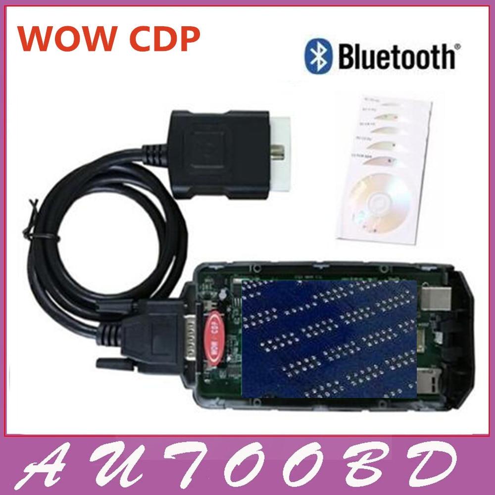 Avec Keygen! WOW Snooper V5.008 R2 VD TCS CDP Scanner Pas BT diagnostics pour La Lumière et utilitaires Lourds véhicules, Voitures et camions